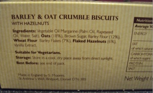 Ingredients look okay!