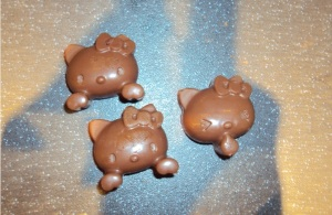 Choc Orange Hello Kitty treats
