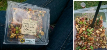 I love this M&S nutty salad