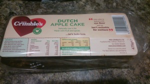 Serious vegan find – Dutch Apple cake from a tiny village store!