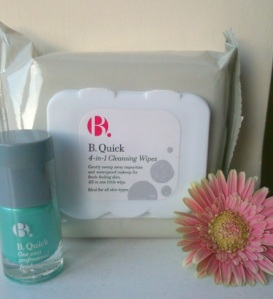 Gorgeous seafoam & B. Quick wipes